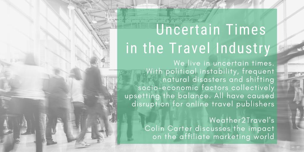 Travel Industry Blog Header