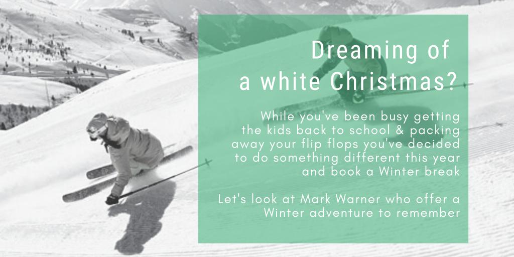 White Christmas Blog Header