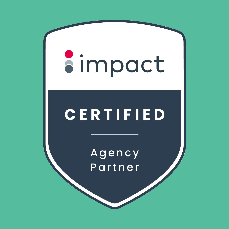 Impact Certified Agency Partner Logo